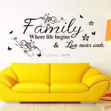 sticker on wall decor vinyl wall art decal decor quote stickers