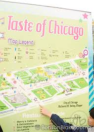 taste of chicago map taste of chicago 2009 benson photography
