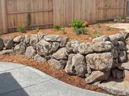 image result for mossy rock retaining wall putnam project