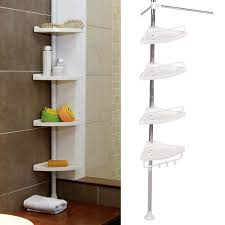 beautiful and very functional bathroom corner shelf home decorations