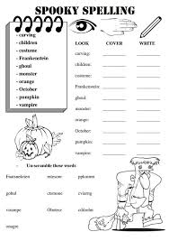 these worksheets are for a set of weekly spelling words with a