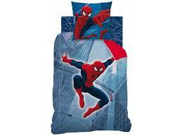 Spiderman Double Duvet Spider Man Tower Reversable Quilt Cover Single 140 X 200 Cm