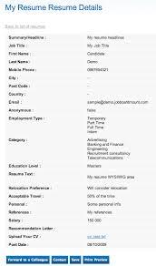 Resume Sample Applying Job by Job Posting U0026 Applications Tracking Jobmount