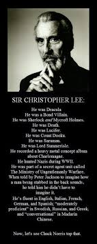 Christopher Meme - meme about christopher lee rip bits and pieces