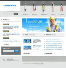 construction company website template 13866