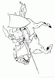 coloriage à imprimer coloriage chevaliers 002