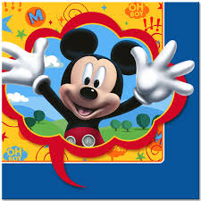 mickey mouse party mickey mouse party lunch napkins 16