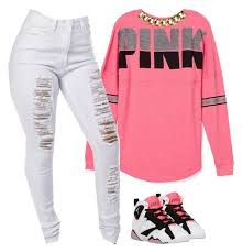 pink clothing pink manhattan polyvore and clothes