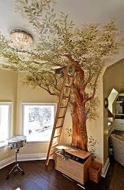 chambre dans un arbre un arbre dans la maison décor enfants la maison