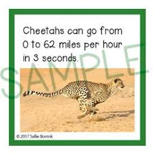 animals of africa facts cards sallieborrink