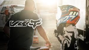 fox youth motocross boots fox youth v3 helmet the future starts here youtube