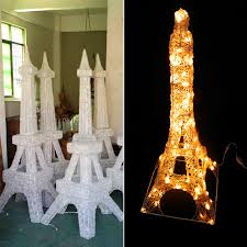 eiffel tower decorations shopping mall decor 120leds eiffel tower buy eiffel tower