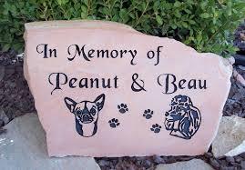 pet headstones pet memorial pet headstones rock designs