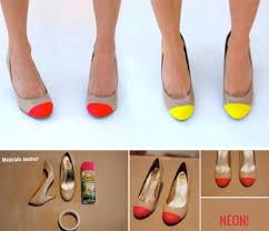 Spray Paint Your Shoes - 105 best diy shoes images on pinterest shoe makeover shoes and