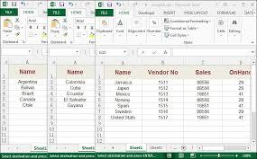 to merge several excel worksheets into a single excel worksheet