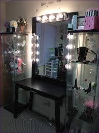 bedroom vanity mirror with light bulbs makeup vanity ikea vanity