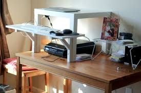 Diy Stand Up Desk Ikea Ikea Standing Desk Hacks With Ergonomic Appeal