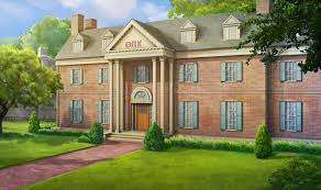 ext frat house day episode pinterest anime scenery anime