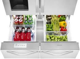 Whirlpool Inch French Door Refrigerator - whirlpool wrv986fdem 36 inch 4 door french door refrigerator with