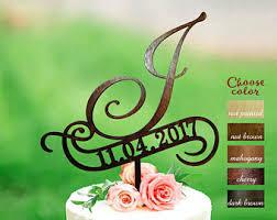 g cake topper letter g cake topper initials cake topper wedding cake