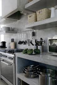cuisine en beton plan de travail cuisine en 71 photos idées inspirations conseils