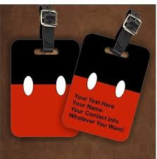 themed luggage tags 49 best luggage tags images on disney luggage tags