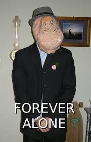 Forever Alone Girl Meme - forever alone guy or girl happy hallo meme 21 preposterous