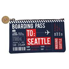 Washington travel size products images Chalo seattle boarding pass travel pouch made in washington jpg