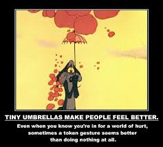 Looney Tunes Meme - tiny umbrellas make people feel better and other life lessons from