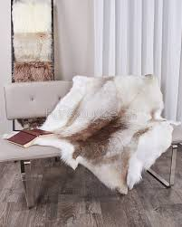 Hide Rugs Wholesale Reindeer Hide Rug Fursource Com