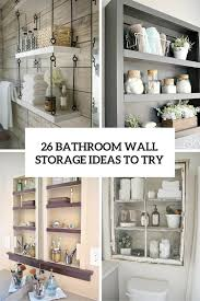 Small Bathroom Wall Shelves Bathroom Shelf Ideas Diy Bathroom Shelf Ideas Pinterest Diy