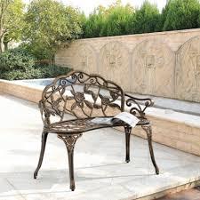Wohnzimmerm El Holz Designe Gartenbank Antik Ideen Metall Sitzbank Provence Antik