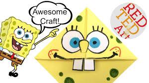 spongebob crafts corner bookmarks red ted art u0027s blog