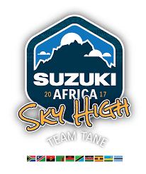 logo suzuki suzuki africa sky high team tane