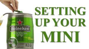 Buy A Keg Heineken Mini Keg Setup Youtube
