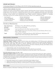 resume format exles documentation of android it support resume application support resume format support