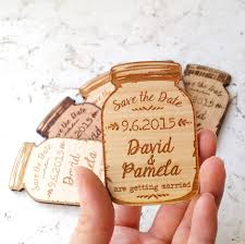 rustic save the dates wedding save the dates magnets uk beautiful jar magnets save