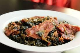 creole collard greens with smoked turkey