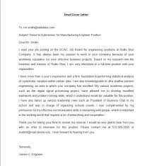 e mail cover letters 9 email cover letter templates free sample