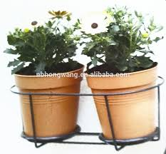 Metal Wall Planter by Decorative Metal Wall Basket Flower Pot Baseket Holder Wall