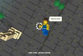 New York Google Maps by Explore Google Maps In Lego Form Mental Floss