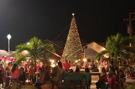 houses u0026 businesses light up for christmas in san pedro belize