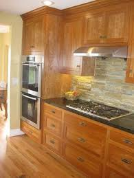 Stone Backsplash Kitchen by Finished Kitchens Blog Tateland U0027s Kitchen Kitchen Ideas