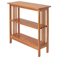 solid wood bookcase mission manchester wood