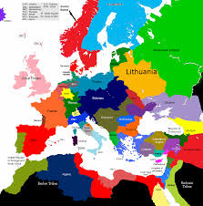 A Map Of Europe Europe 1430 1585 1615 Map Game Alternative History Fandom