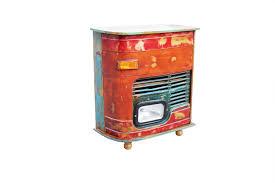 Wohnzimmerschrank Vintage Vintage Kommode Barschrank Stahl Holz Massiv Designermöbel