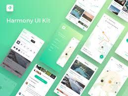 harmony ui kit sketch freebie download free resource for sketch