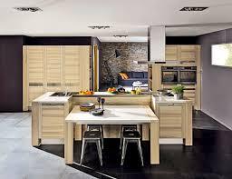 ilot cuisine avec table table ilot centrale cuisine inspirations avec central homewreckr co