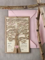 Rustic Wedding Invitation Custom Listing 20 Rustic Wedding Invitation Laser Cut Tree