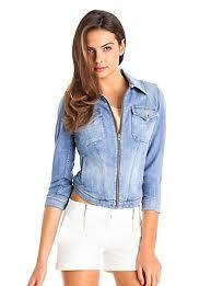 light blue cropped jean jacket cropped jean jacket